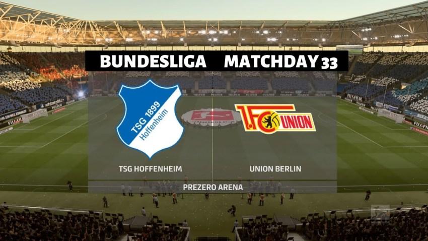 Prediksi Bola TSG Hoffenheim VS Union Berlin - Nova88 Sports