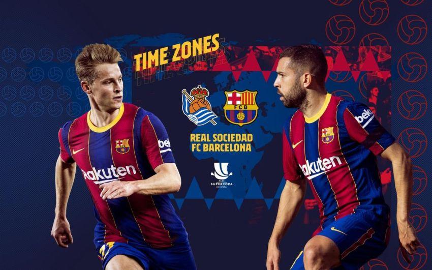 Prediksi Bola Real Sociedad VS FC Barcelona - Nova88 Sports