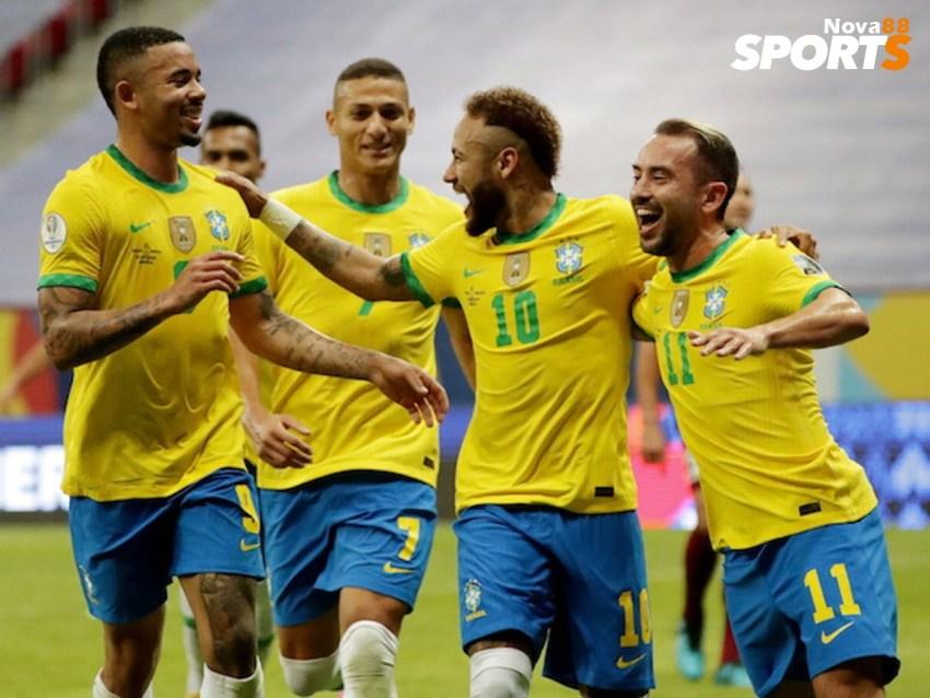 Prediksi Bola Brasil VS Kolombia - Nova88 Sports
