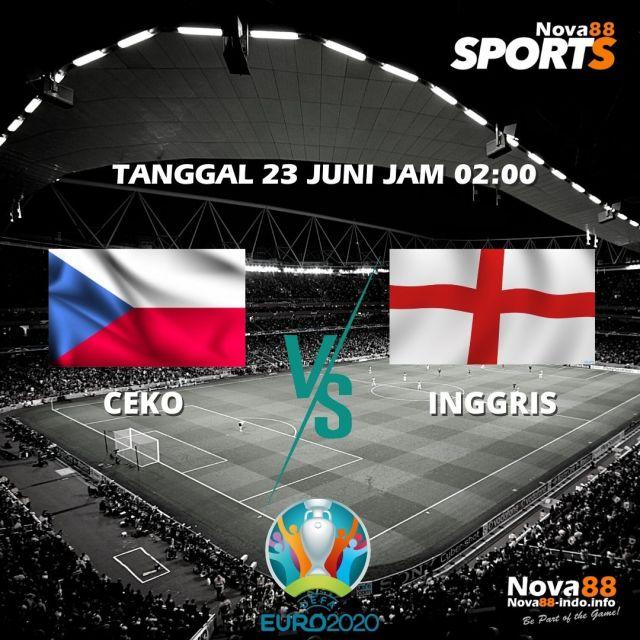 Prediksi Bola EURO 2021 Ceko VS Inggris - Nova88 Sports