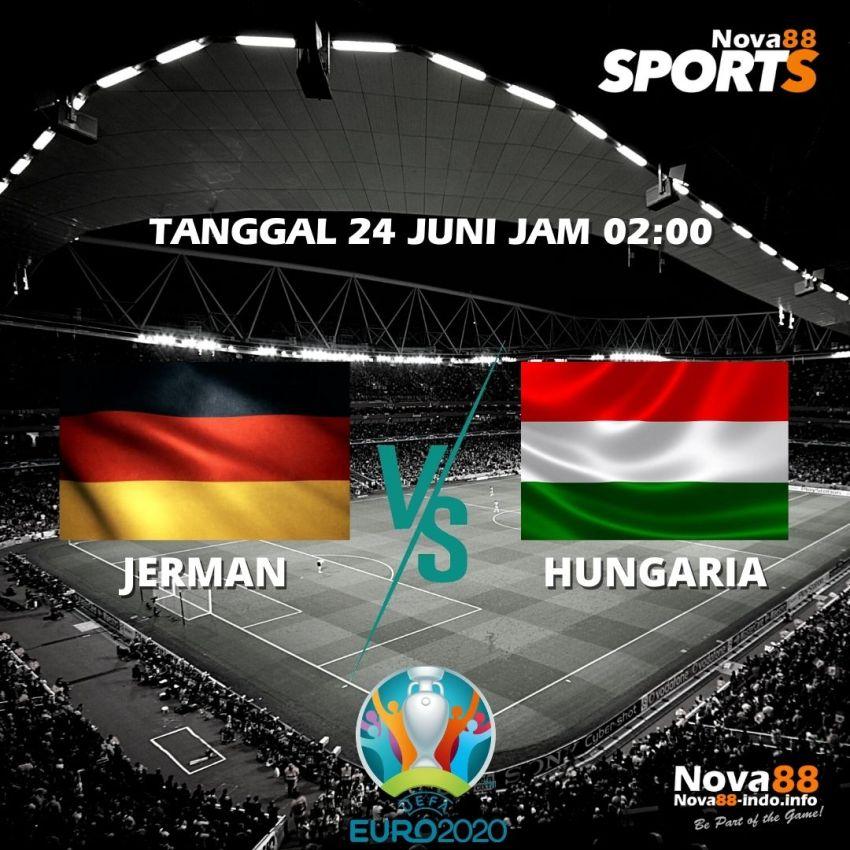 Prediksi Bola EURO 2021 Jerman VS Hungaria - Nova88 Sports