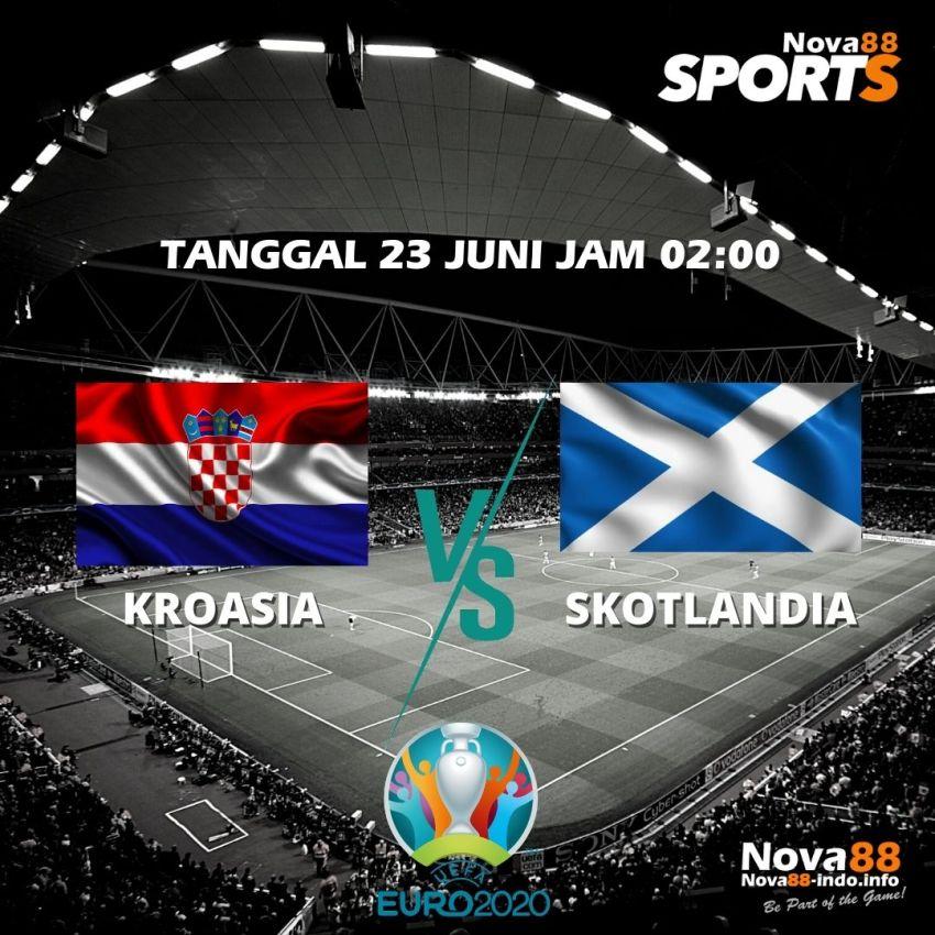 Prediksi Bola EURO 2021 Kroasia VS Skotlandia - Nova88 Sports