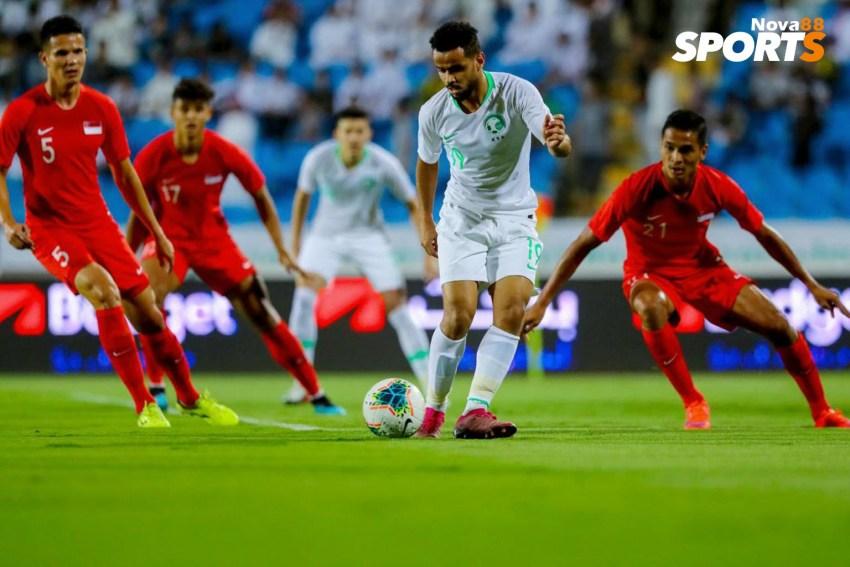 Prediksi Bola Singapura VS Arab Saudi - Nova88 Sports