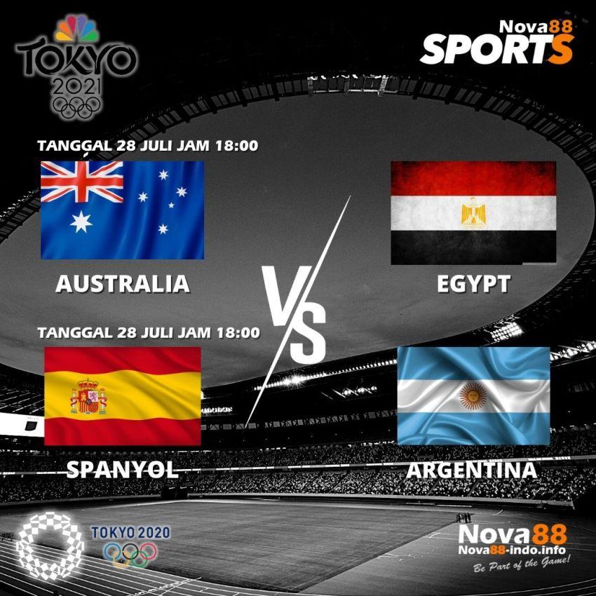 Jadwal 3 Olimpiade Tokyo 2020 Tanggal 28 Juli 2021 - Nova88 Sports