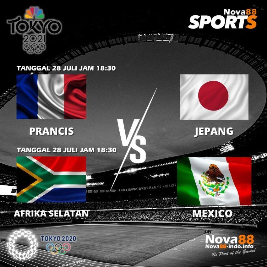 Jadwal 4 Olimpiade Tokyo 2020 Tanggal 28 Juli 2021 - Nova88 Sports