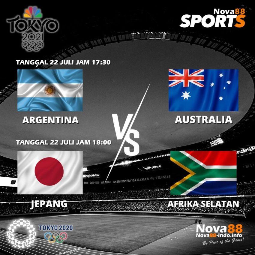 Jadwal 2 Olimpiade Tokyo 2020 Tanggal 22 Juli 2021 - Nova88 Sports