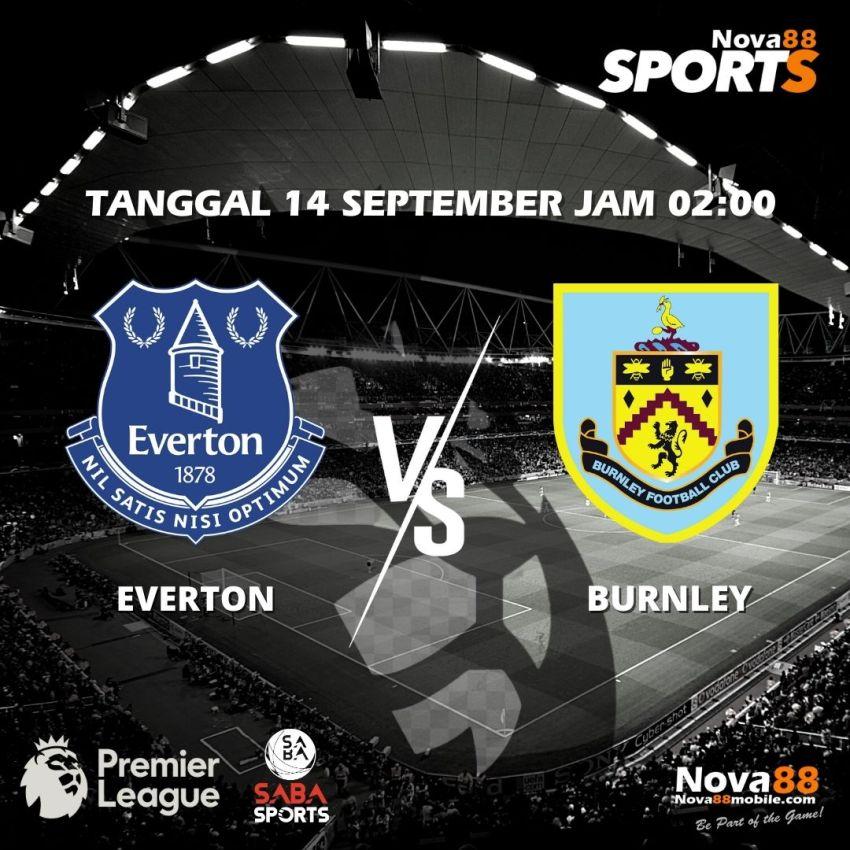 Prediksi Bola Everton VS Burnley - Nova88 Sports