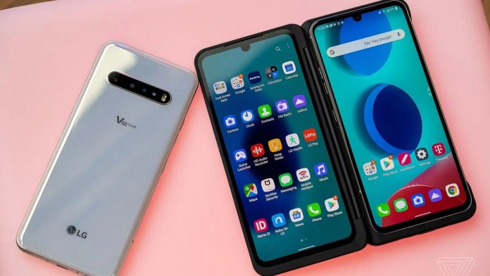 US Cellular Cell Phone - LG V60 ThinQ
