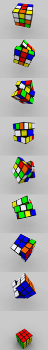 la vida al cubo
