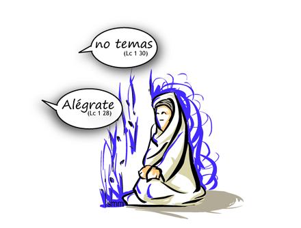 No temas María