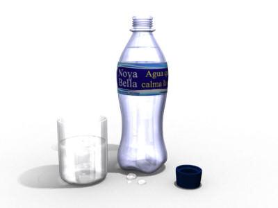 Agua que calma la sed