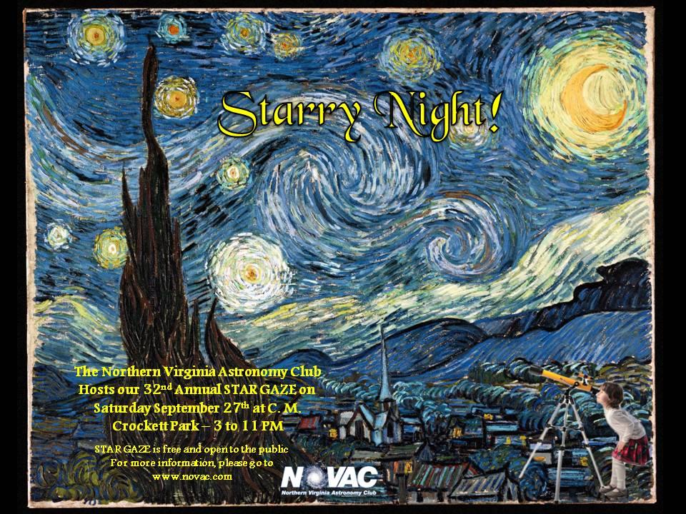 Star Gaze flyer 2014