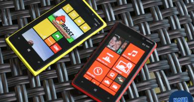 Nokia 920 ve 820.