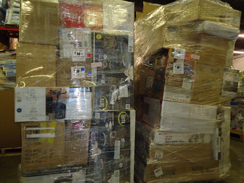 Load Arrive Weekly W Mart Super Store General Merchandise Pallets NovaCommerce Corporation