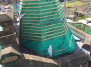 Heritage Leadwork Glasgow Dome Preperation 2