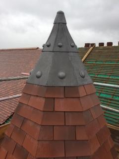 Heritage Leadwork Glasgow Dome