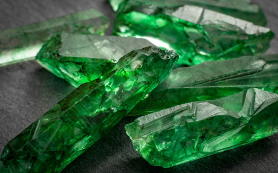 Emerald. The May Birthstone, Jewel of Kings and Lie Detector Stone