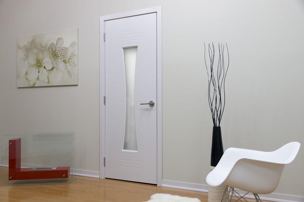 M61 Interior Door White Ash Nova Interior Doors