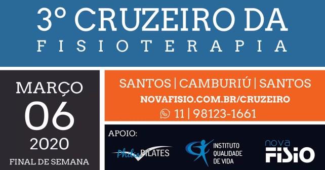 3º Cruzeiro da Fisioterapia