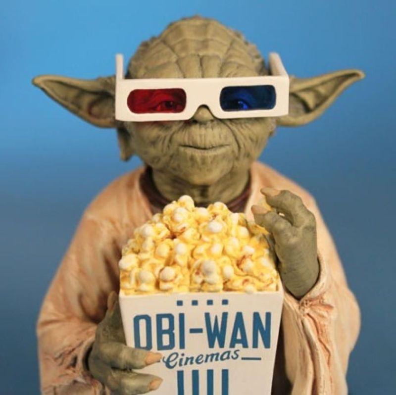 Yoda al cinema