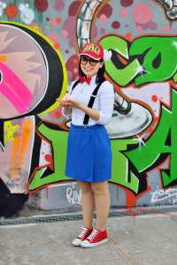 Arale cosplayer