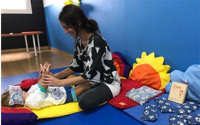 En Novainfancia practicamos Yoga!