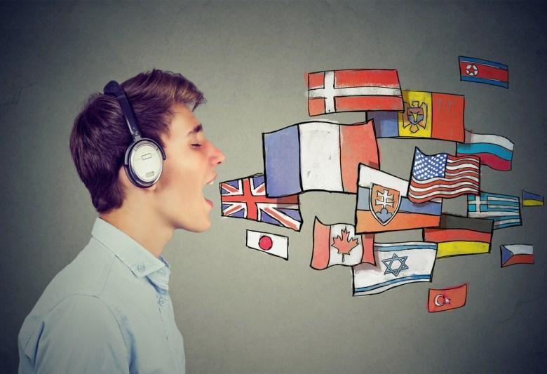 wiele języków obcych