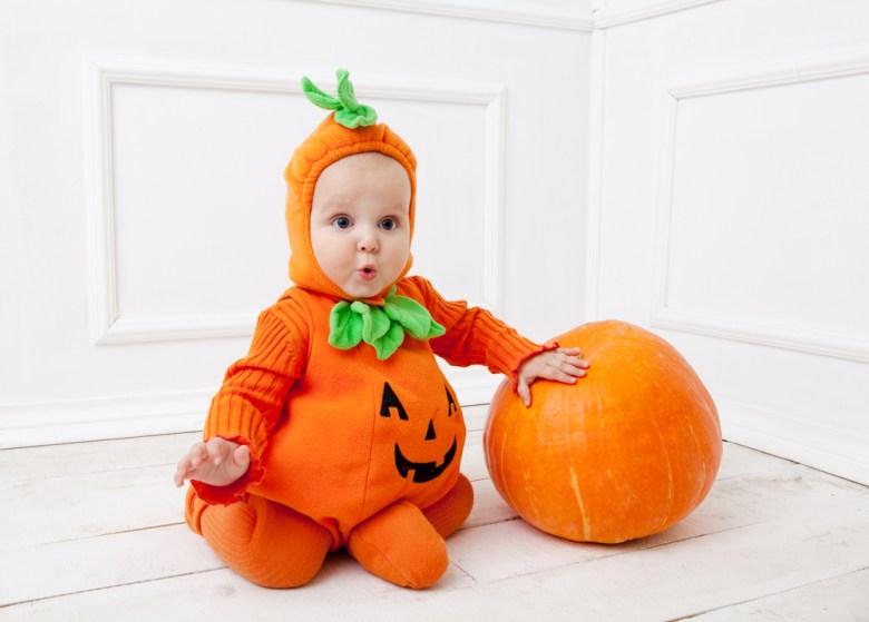 Kostium dyni na Halloween
