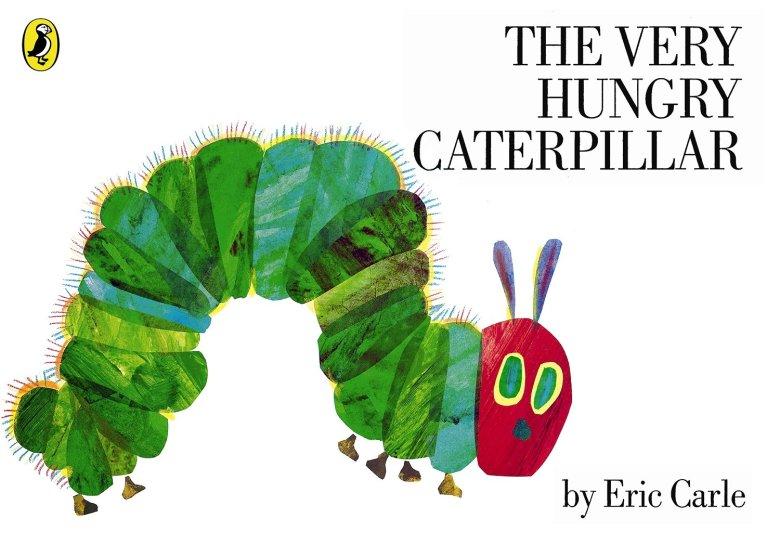 książki dla dzieci po angielsku–The Very Hungry Caterpillar