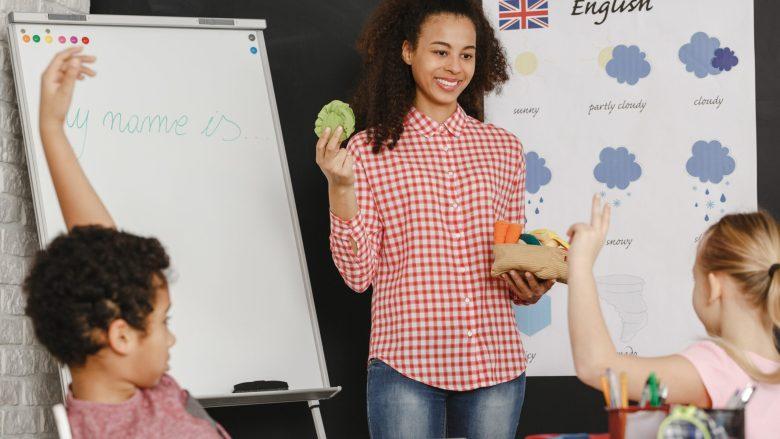Nauka angielskich słówek w klasie