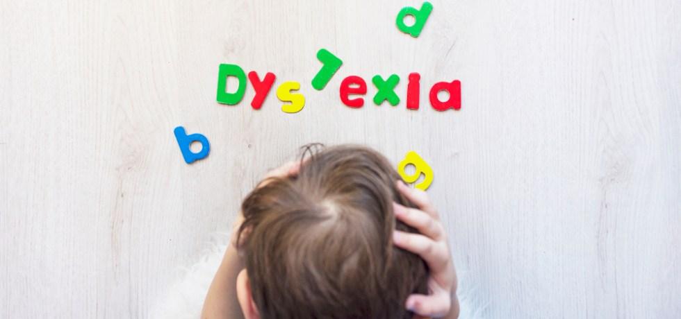 dziecko z dysleksją
