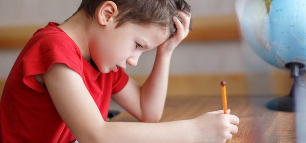 dziecko ma problem z powrotem do szkoły