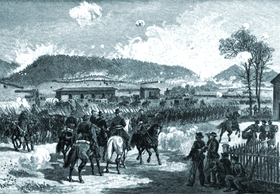 Battle of Ringold Georgia on the Western & Atlantic Rail Road