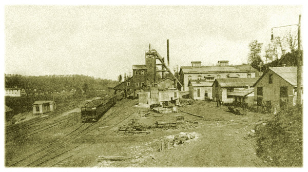 Colliery at Eccles, West Virginia