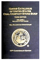 Edkins Catalog of United States Coal Company Store Scrip