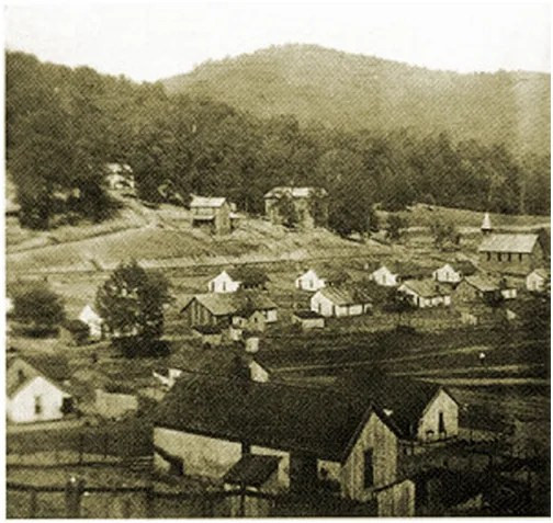 Photo Photograph Packard Kentucky Coal Camp Mining Town