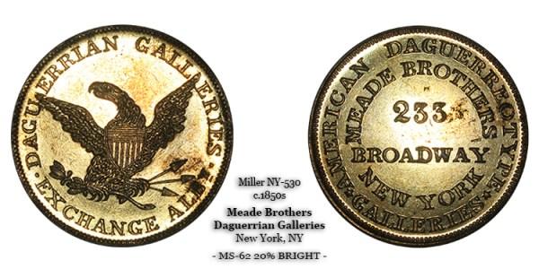 Miller NY-530 Meade &Brothers Albany New York NY