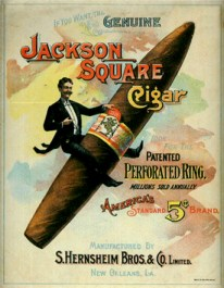 Genuine Jackson Square Cigars S. Hernsheim Bros & Co
