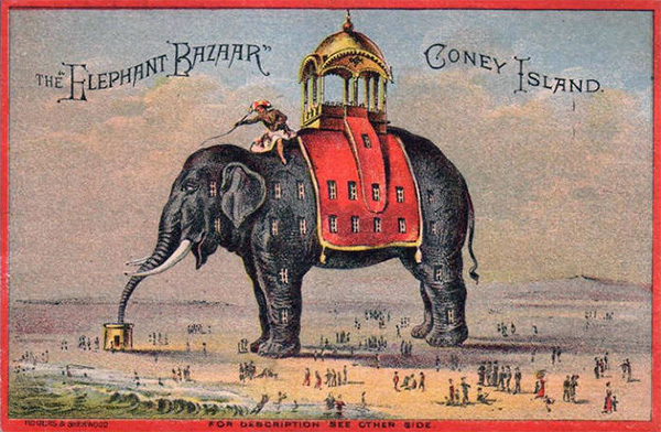 The Elephantine Colossus and later, Elephant Bazaar