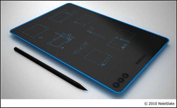Электронный блокнот NoteSlate: синий