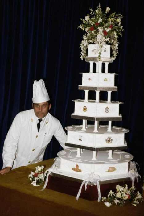 Свадебный торт принцессы Дианы.