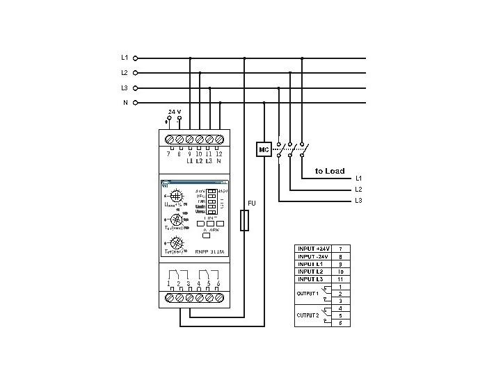 RNPP-311M Connection