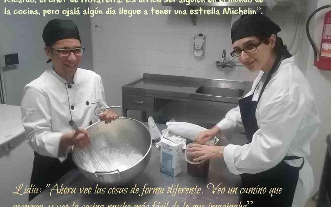 """Héctor: """"Sueño con convertirme en jefe de cocina…y ¿por qué no? ganar una estrella Michelín"""""""