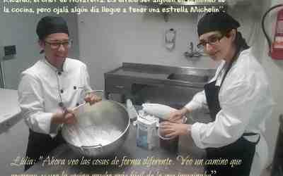 Héctor: «Sueño con convertirme en jefe de cocina…y ¿por qué no? ganar una estrella Michelín»