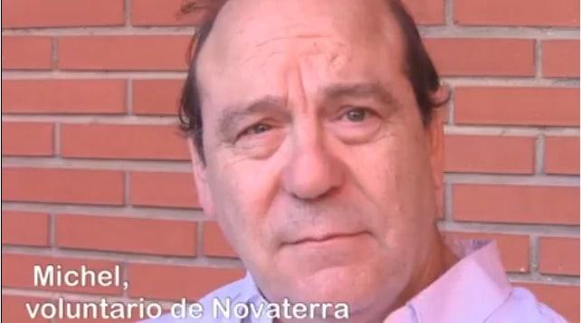 Michel Henric-Coll, voluntario de Novaterra: «Novaterra es para mí Humanidad»