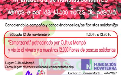 [12 nov.]III Encuentro de floristas solidari@s