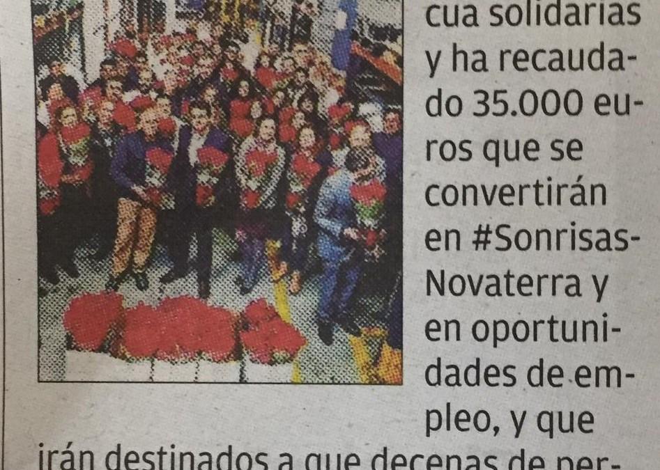 Novaterra recapta 35.000€ amb les flore de Pasqua solidàries