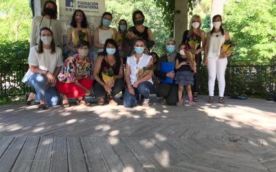 """Novaterra Alcoi clausura el curso del punto formativo de """"la Caixa"""" """"Camarera de salón y habitaciones"""" tras el confinamiento"""