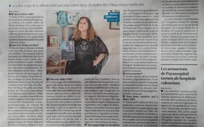 """""""Una moda que ens preocupa ha de tindre un fort compromís social i ètic"""" Patricia Azpelicueta, Emprenedora de Novaterra"""