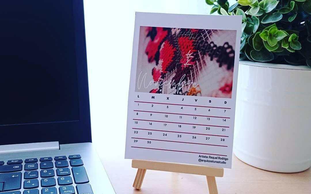 Mulier y Lanza Marketing colaboran con Novaterra Alcoy con un calendario solidario